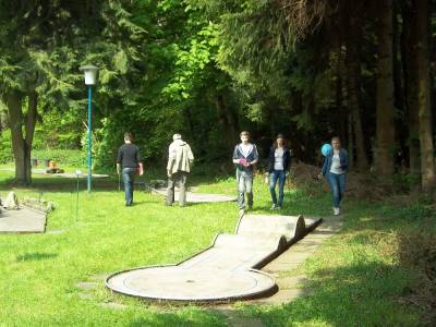 All you can Minigolf -